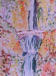 """Waterfall Study"" by Virgil Anderson"