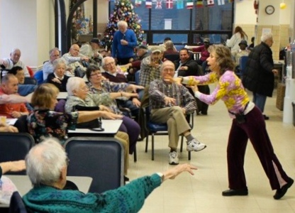 In a program I recently led for senior citizens, the presenter had just detailed a list of all the signs of Alzheimers! Oh my gosh . . . I perked them up with Arm Activation!