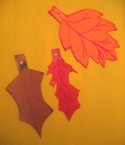 Some completed Double Doodle leaves.