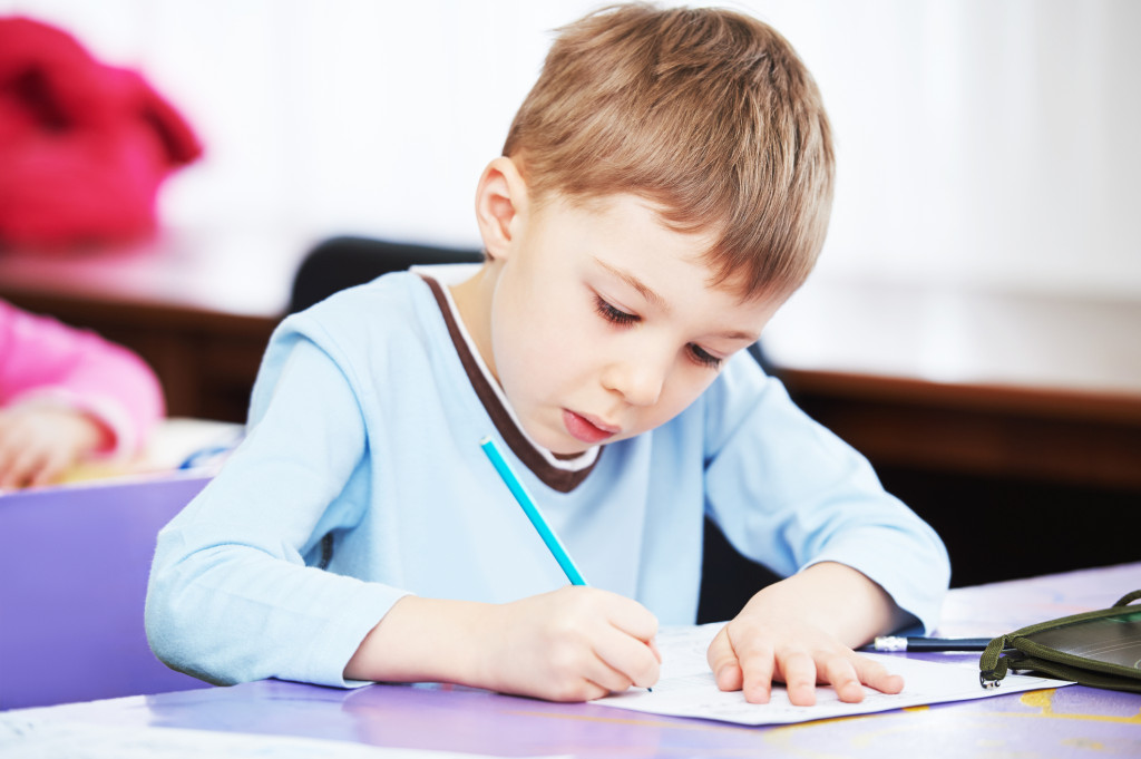 Writing and storytelling develop thinking skills and guide children to a love of reading.